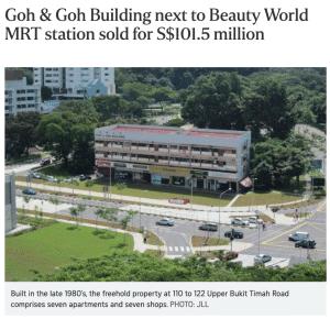 Bukit Timah En Bloc Goh and Goh Buliding 1