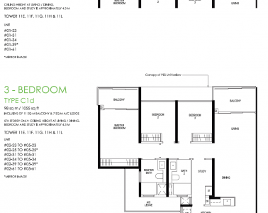 Daintree Residence Type C1d