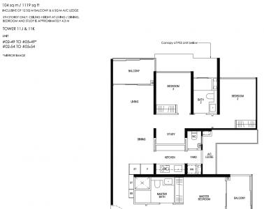 Daintree Residence Type C4
