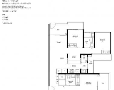 Daintree Residence Type C4-p