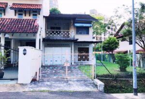 The two-storey semi-detached house at 35 Jalan Arnap On Sale For $10.98mil